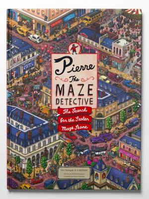 Pierre the Maze Detective The Search for the Stolen Maze Stone by Hiro Kamigaki, IC4DESIGN