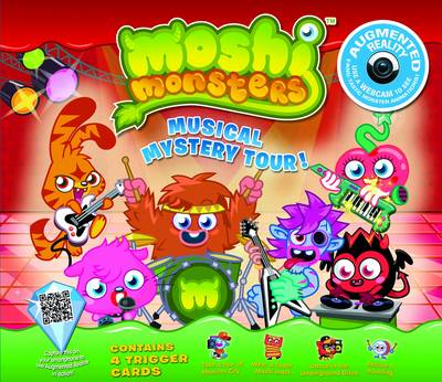 Moshi Monsters Musical Mystery Tour An Augmented Reality Book by Mind Candy Ltd.