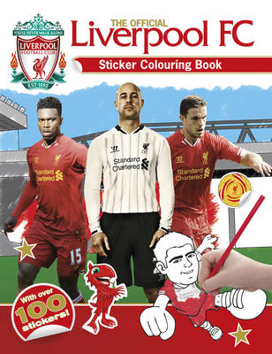 The Official Liverpool FC Sticker Colouring Book by