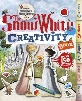 The Snow White Creativity Book by Penny Worms