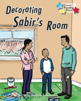 Decorating Sabir's Room by