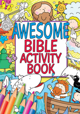 Awesome Bible Activity Book by