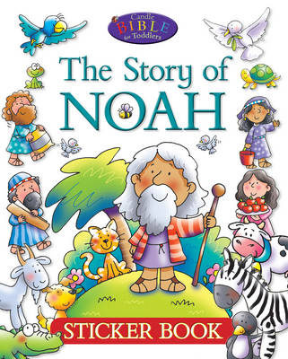 The Story of Noah Sticker Book by Juliet David