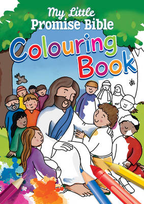 My Little Promise Bible Colouring Book by Juliet David