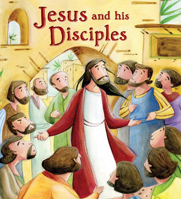 Jesus and His Disciples by Katherine Sully