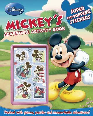 Disney Mickey's Adventure Activity Book by