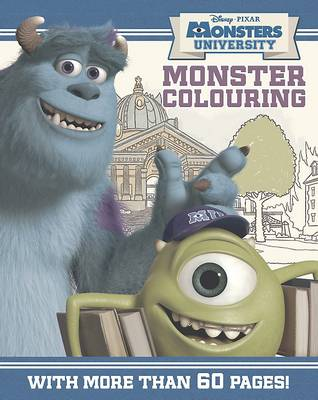 Disney Monsters University Colouring Book by