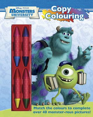 Disney Monsters University Copy Colouring by