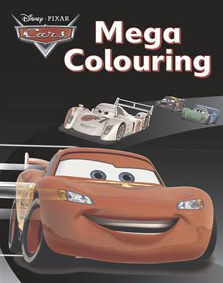 Disney Cars Mega Colouring Book by