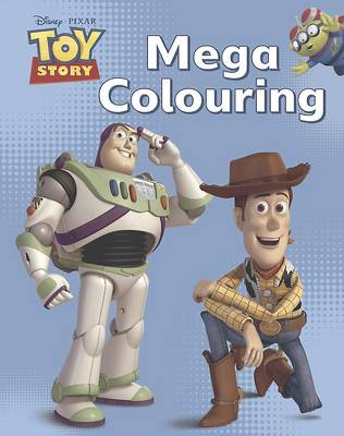 Disney Toy Story Mega Colouring Book by