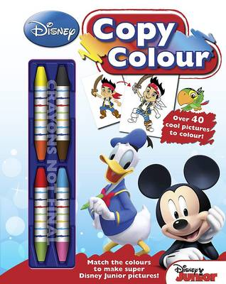 Disney Junior Mickey Mouse Clubhouse Copy Colouring Book by