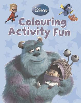 Disney Pixar Colour Activity Fun by