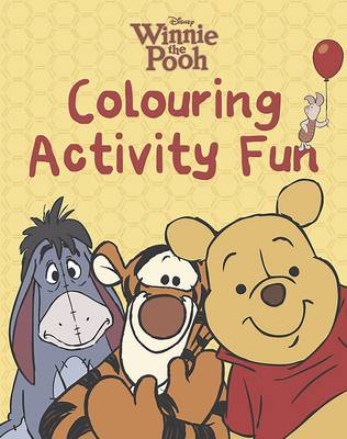 Disney Winnie the Pooh Colour Activity Fun by