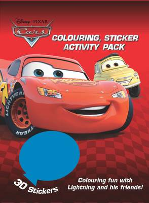 Disney Cars Colouring and Activity Sticker Pack by