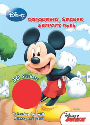 Disney Junior Colouring and Activity Sticker Pack by