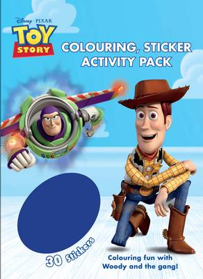 Disney Toy Story Colouring & Activity Sticker Pack by