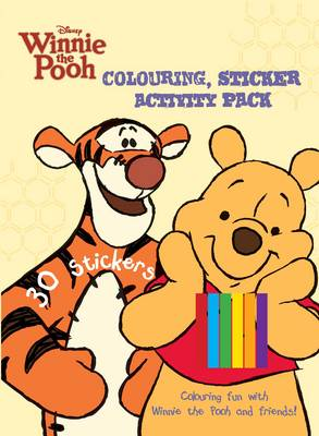 Disney Winnie the Pooh Colouring & Activity Sticker Pack by