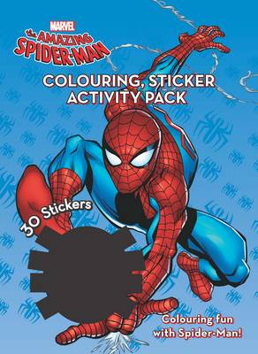 Marvel Spider-Man Colouring & Activity Sticker Pack by