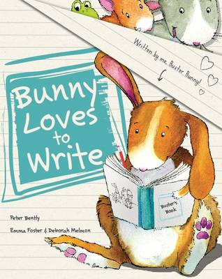 Bunny Loves to Write (Picture Story Book) by