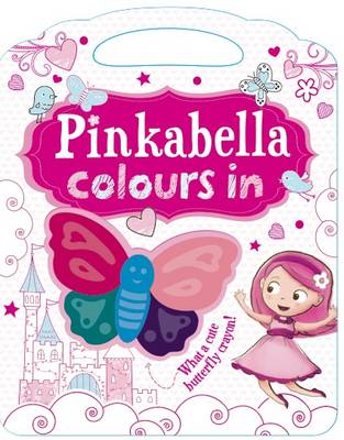 Pinkabella Colours in - Activity Book by