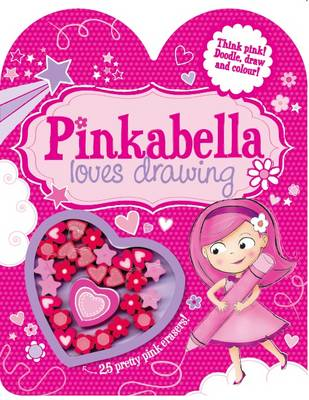 Pinkabella Loves Drawing Activity Book by