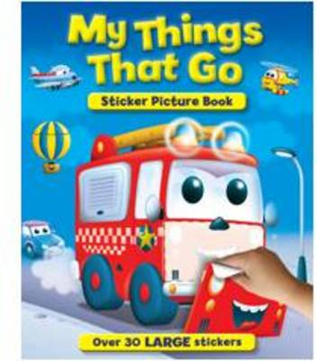 My Noisy Things That Go Sticker and Activity Book by