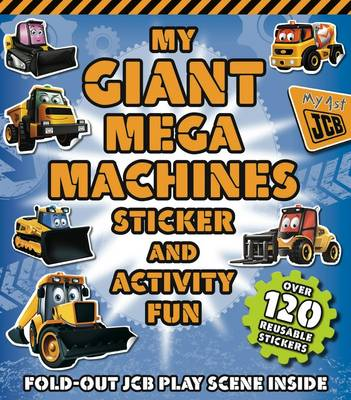 My Giant Mega Machines Sticker and Activity Book by