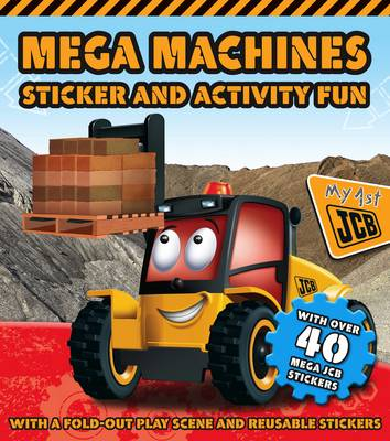 Mega Machines Sticker and Activity Book by
