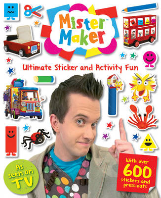 My Giant Mister Maker Activity Book by