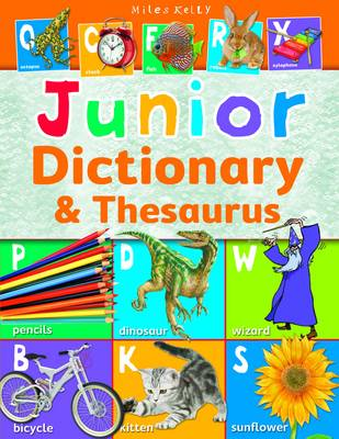 Junior Dictionary & Thesaurus by Belinda Gallagher