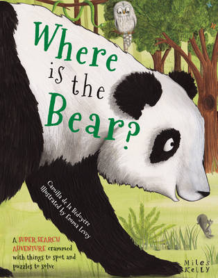 Super Search Adventure Where is the Bear? by Camilla De la Bedoyere