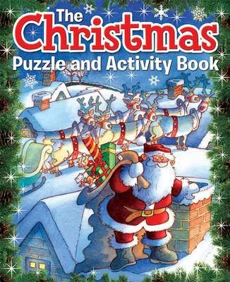 The Christmas Puzzle and Activity Book by Arcturus Publishing, Arcturus Publishing