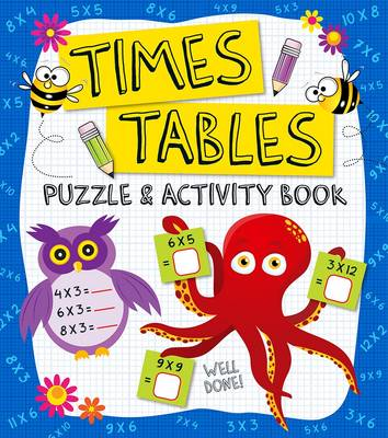 Times Tables Puzzle & Activity Book by Penny Worms