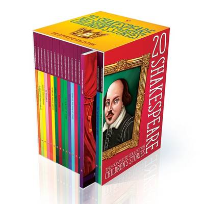 Twenty Shakespeare Children's Stories The Complete 20 Books Boxed Collection by Macaw Books