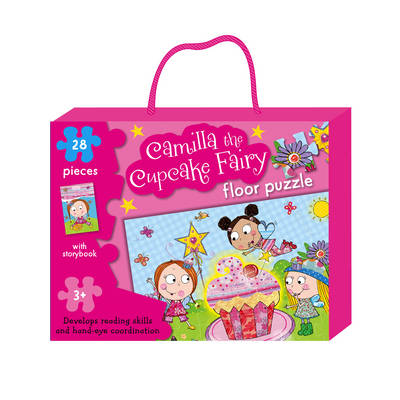 Camilla the Cupcake Fairy Floor Puzzle by Tim Bugbird, Katie Rowbottom