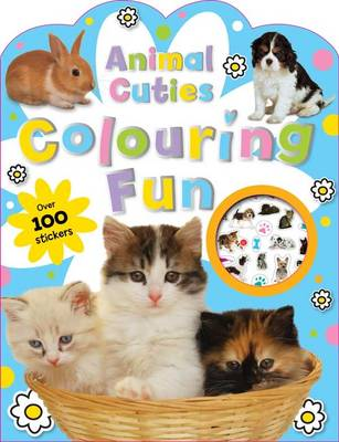 Animal Cuties Colouring Book by Emma Pelling