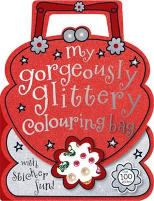 My Gorgeously Glittery Colouring Bag by Laura McNab