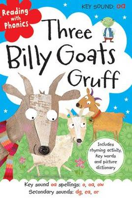 Three Billy Goats Gruff by Clare Fennell