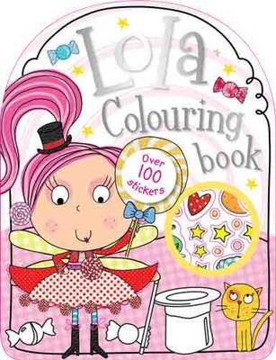 Lola the Lollipop Colouring Book by