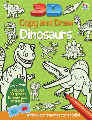 3D Copy and Draw Dinosaurs by Barry Green