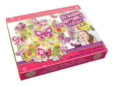 3D Magical Butterfly Garden! by Nat Lambert