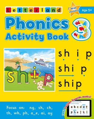 Phonics Activity Book 3 by Lisa Holt, Lyn Wendon