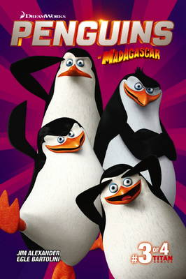 Penguins of Madagascar by Titan Comics
