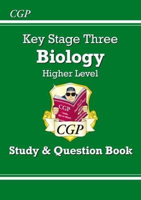 KS3 Biology Study & Question Book (with Online Edition) - Higher by CGP Books