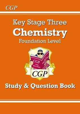 KS3 Chemistry Study & Question Book (with Online Edition) - Foundation by CGP Books