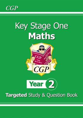 KS1 Maths Targeted Study & Question Book - Year 2 by CGP Books