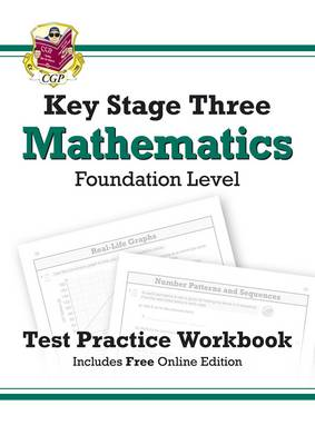 KS3 Maths Test Practice Workbook - Foundation by CGP Books