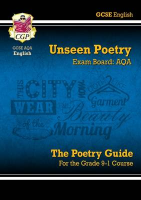 New Grade 9-1 GCSE English Literature AQA Unseen Poetry Guide - Book 1 by CGP Books