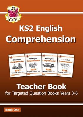 KS2 English Targeted Comprehension Teacher Book by CGP Books