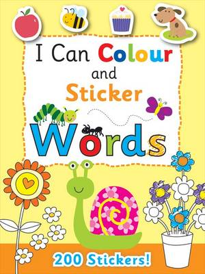 I Can Colour - My First Words by